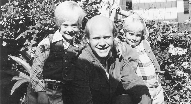 The author with his kids 1983